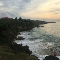 Photo taken at Tegal Wangi Beach by Ульяна М. on 3/4/2017