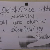 Photo taken at baskı odası by Ayşe Ç. on 8/1/2013