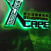 Photo taken at xCAPE SINGAPORE by Wee Wu N. on 6/23/2013