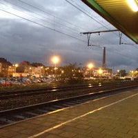 Photo taken at Station Gent-Dampoort by An-Sofie on 11/5/2013