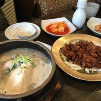 Photo taken at 발산삼계탕 by Jen L. on 12/10/2014