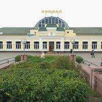 Photo taken at Бобруйск Пассажирский / Bobruysk Railway Station by Yulia K. on 8/28/2014
