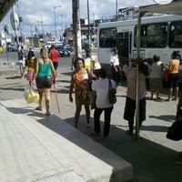 Photo taken at Largo do Luso by Crislei O. on 2/6/2013
