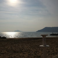 Photo taken at Puerto Ifach by Andrea on 2/17/2013