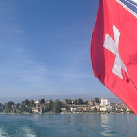 Photo taken at Cruise Genève-Yvoire by Ronan P. on 9/27/2014