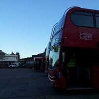 Photo taken at Hounslow Bus Station by Ian M. on 10/10/2013