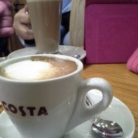 Photo taken at Costa Coffee by Ian M. on 11/24/2013
