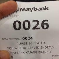 Photo taken at Maybank Kajang by Nadia M. on 1/12/2017