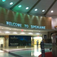 Photo taken at Spokane International Airport (GEG) by Trisha A. on 1/15/2013