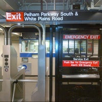 Photo taken at MTA Subway - Pelham Parkway (2/5) by Tremayne on 3/7/2013