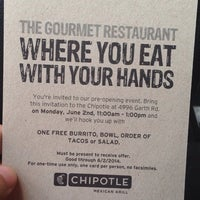 Photo taken at Chipotle Mexican Grill by Mina G. on 6/2/2014