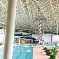 Photo taken at Haginaka Park Swimming Pool by あーちゃん on 3/27/2017