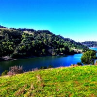 Photo taken at Lake Chabot Regional Park by 🐳 jackie m. on 12/10/2012