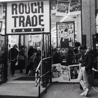 Photo taken at Rough Trade East by Keith H. on 12/16/2012