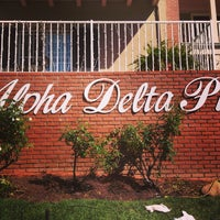 Photo taken at Alpha Delta Pi - UCLA by Dan S. on 2/13/2013