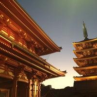 10/13/2013 tarihinde Katsumi E.ziyaretçi tarafından Senso-ji Temple'de çekilen fotoğraf