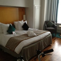 Photo taken at Crowne Plaza Brussels Le Palace by miguelusque on 12/15/2012