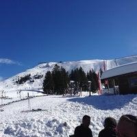 Photo taken at Berggasthof Hochbrunn by Chris S. on 2/21/2014
