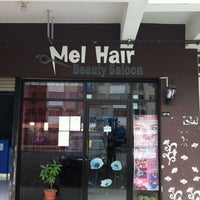 Photo taken at Mell Hair Beauty Saloon by MeyMenk on 2/2/2013