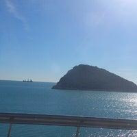 Photo taken at Antalya - Kemer Yolu by Maço on 2/12/2013