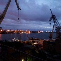 Photo taken at Baltic Shipyard by Uriy S. on 6/17/2013