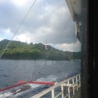 Photo taken at Pantalan sa Tingloy by Rainier A. on 10/13/2012