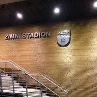 Photo taken at Zimní stadion Vlašim by Marek F. on 10/25/2013