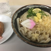 Photo taken at 久米池うどん by Itsuaki K. on 11/25/2016