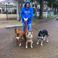 Photo taken at Shelby Farms Dog Park by Kathleen W. on 12/15/2012