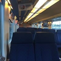 Photo taken at Trein Gent > Antwerpen by Stef N. on 5/7/2014