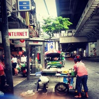Photo taken at Silom Road by Takeshi L. on 7/18/2013