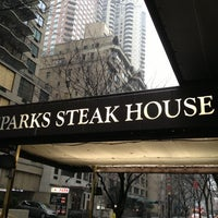 Photo taken at Sparks Steak House by septemberemix on 3/17/2013
