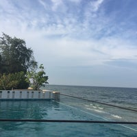 Photo taken at The Rock Hua Hin Boutique Beach Resort and Spa by Sweeper on 10/29/2016