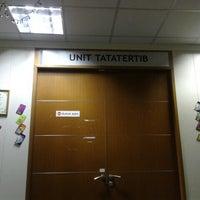 Photo taken at Bhgn Integriti Jabatan Imigresen Putrajaya by Nadzirah N. on 8/13/2013