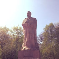 Photo taken at Пам'ятник Івану Франку / Ivan Franko Monument by Sander on 4/29/2013