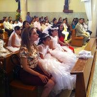 Photo taken at Parroquia de Nuestra Señora de Lourdes by Alejandro A. on 2/9/2013
