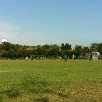 Photo taken at Stadium Mini Shah Alam by Papa Q. on 3/26/2017