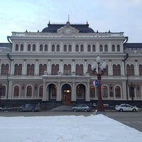 Photo taken at Казанская ратуша by Сан-Саныч on 2/11/2013