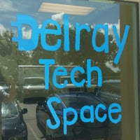 Photo taken at Delray Tech Space by Mark L. on 5/30/2015