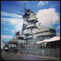 Photo taken at Nauticus by Natalia S. on 7/9/2013