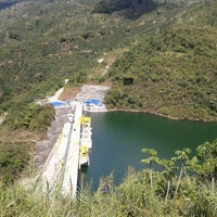 Photo taken at Represa Proyecto Hidroelectrico Pirrís by Sharling A. on 1/4/2014