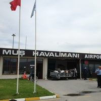 Photo taken at Muş Airport (MSR) by Canan P. on 5/21/2013
