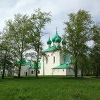 Photo taken at Храм преподобного Сергия Радонежского (Куликово поле) by Alexey B. on 5/10/2013