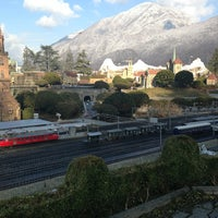 Photo taken at Swiss Miniatur by Alexey B. on 2/22/2013