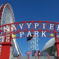 Photo taken at Navy Pier by Francis R. on 4/5/2013