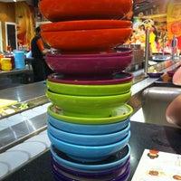 Photo taken at YO! Sushi by Nicole L. on 6/9/2013