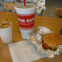 Photo taken at Five Guys by Thomas L. on 7/26/2013