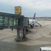 Photo taken at Gate 111 by İhsan U. on 5/13/2013