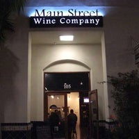 Photo taken at Main Street Wine Company by OC Weekly on 8/4/2014
