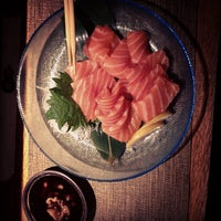 Photo taken at Kanpai Japanese Sushi Bar & Grill by Mrinabh D. on 10/9/2012